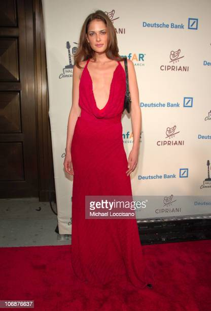 Katarina Scola during Lionel Richie Features 2006 Cipriani Concert Series to Benefit amfAR Red Carpet at Cipriani Wall Street in New York City New...