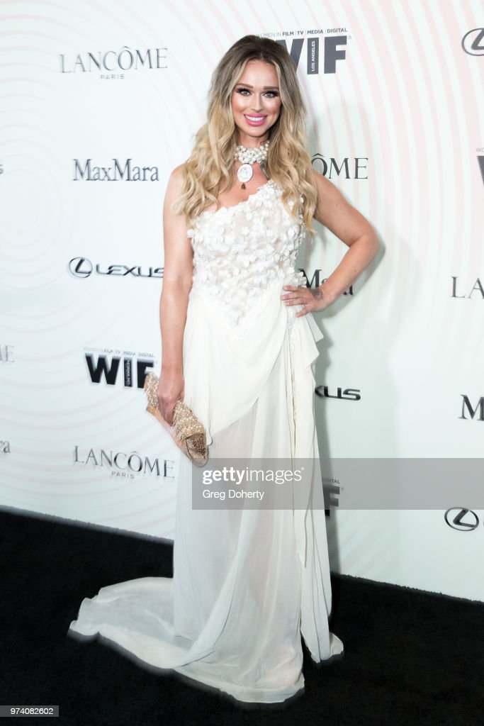 Katarina Van Derham attends Women In Film 2018 Crystal + Lucy Award at The Beverly Hilton Hotel on June 13, 2018 in Beverly Hills, California.