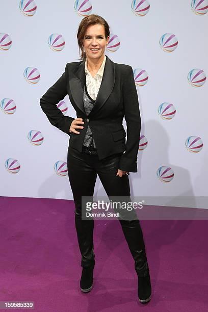 Katarina Witt attends 'Der Feind In Meinem Leben' Berlin Photocall at Astor Lounge on January 16 2013 in Berlin Germany