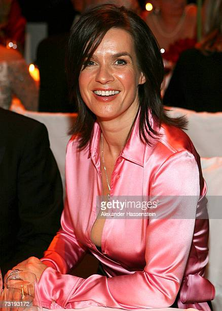 Katarina Witt attends the 2007 Sports Gala Ball des Sports at the RheinMain Hall on February 3 2007 in Wiesbaden Germany