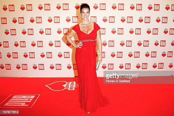 Katarina Witt attends the 'Ein Herz fuer Kinder' Charity Gala at Axel Springer Haus on December 18, 2010 in Berlin, Germany.
