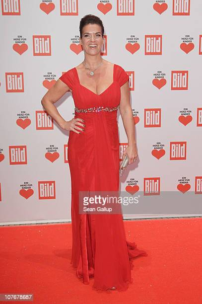 Katarina Witt attends the 'Ein Herz Fuer Kinder' charity gala at Axel Springer Haus on December 18 2010 in Berlin Germany