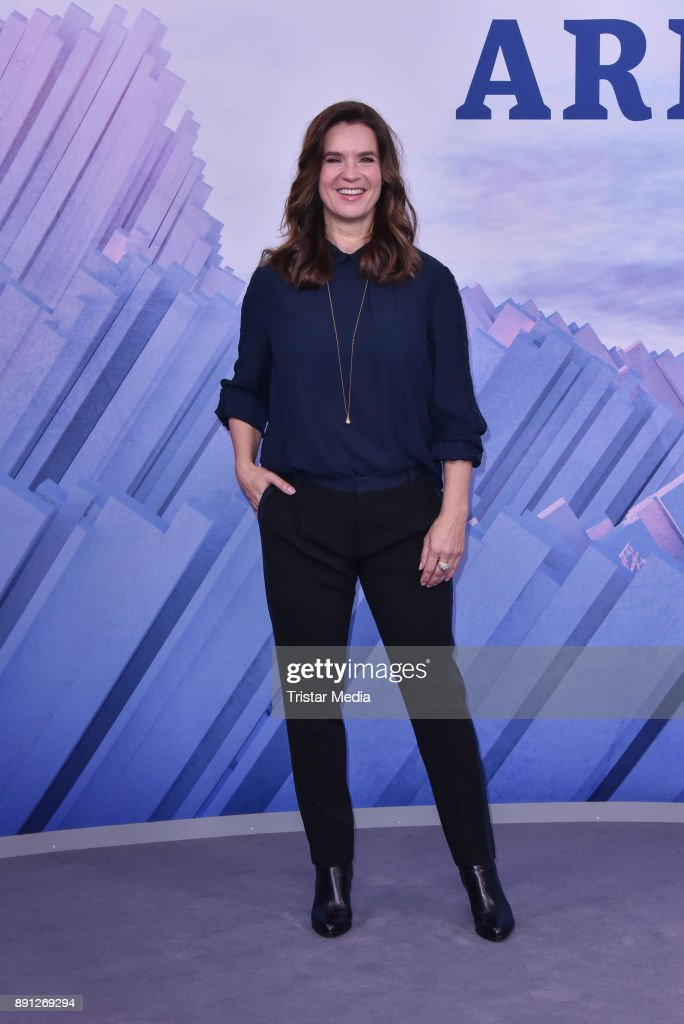 Katarina Witt during the Olympia Press Conference on December 12, 2017 in Berlin, Germany.