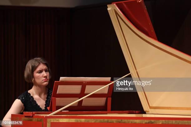 Katarzyna Kluczykowska on harpsichord plays the music of Francois Couperin in the Juilliard School's Historical Performance L'Art de toucher le...
