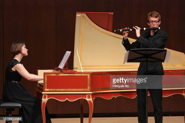 Katarzyna Kluczykowska on harpsichord with Jonathan Slade in flute plays the music of Francois Couperin in the Juilliard School's Historical...