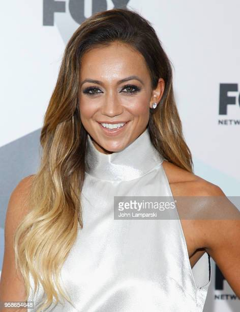 Kate Abdo attends 2018 Fox Network Upfront at Wollman Rink Central Park on May 14 2018 in New York City