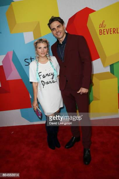 Kate Albrecht and guest attend the 7th Annual 2017 Streamy Awards at The Beverly Hilton Hotel on September 26 2017 in Beverly Hills California