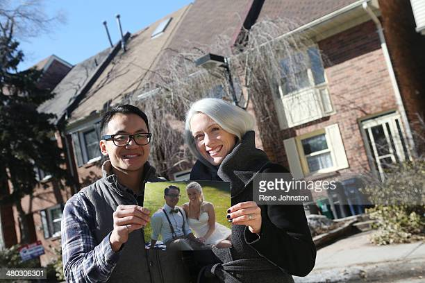 TORONTO ON MARCH 16 Kate and Alex Hang put in bid on 639 Rhodes Ave and took at look at 689 Rhodes then put in a bully bid and got 44 Torbrick in the...