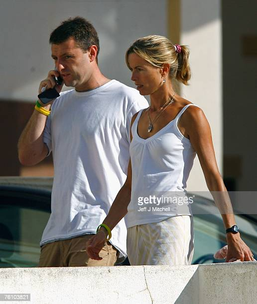Kate and Gerry McCann arrive at church to attend a service on August 15 2007 in Praia da Luz Portugal It has been 104 days since fouryearold...