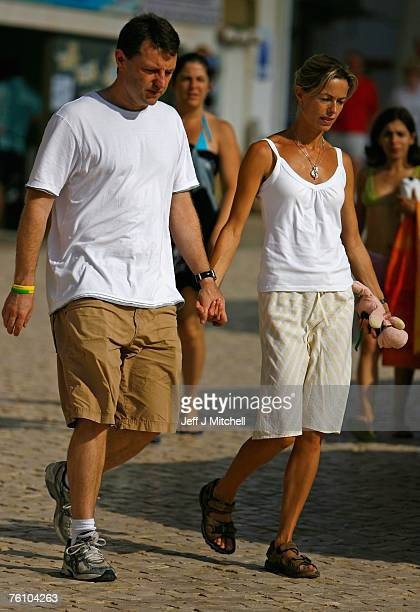 Kate and Gerry McCann arrive at church to attend service on August 15 2007 in Praia da Luz Portugal It has been 104 days since fouryearold Madeleine...