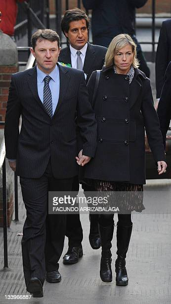 Kate and Gerry McCann arrive at the Leveson Inquiry in central London on November 23 2011 Britain's phone hacking inquiry was set up by Prime...