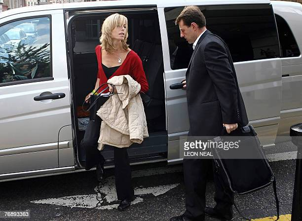 Kate and Gerry McCann arrive at their solicitors office in central London 20 September 2007 British couple Gerry and Kate McCann said Wednesday they...