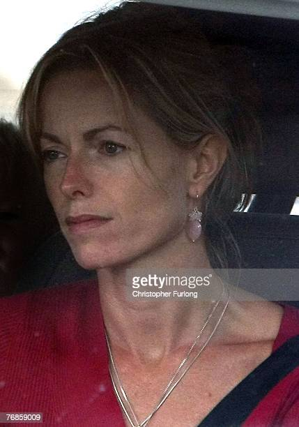 Kate and Gerry McCann arrive back home after a journey in their car on September 19 2007 in Rothley England The McCann family have returned from...