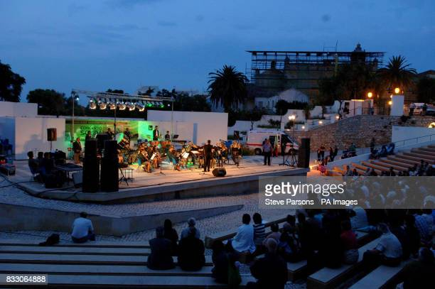 Kate and Gerry McCann attend an evening concert in Lagos Portugal in aid of their daughter Madeleine who has been missing since the evening of...