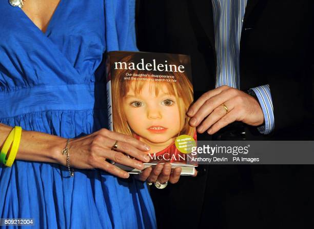 Kate and Gerry McCann give a press conference in central London on their newly published book 'Madeleine' about their daughter's disappearance in 2007