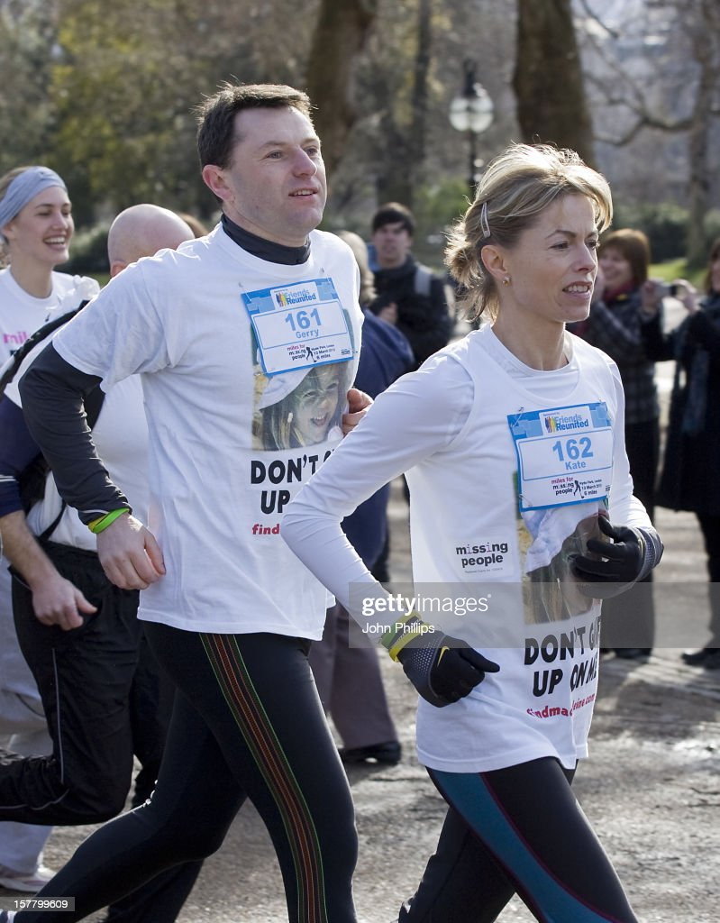 Six Years on the Run:  The Virgin Marathon Kate-and-gerry-mccann-launch-miles-for-missing-people-a-new-charity-picture-id157799609