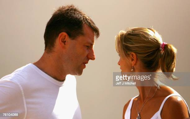 Kate and Gerry McCann leave church after attending a service on August 15 2007 in Praia da Luz Portugal It has been 104 days since fouryearold...