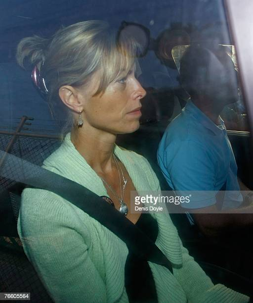 Kate and Gerry McCann the parents of missing fouryearold Madeleine McCann arrive at Faro airport to board an Easyjet plane back to England on...
