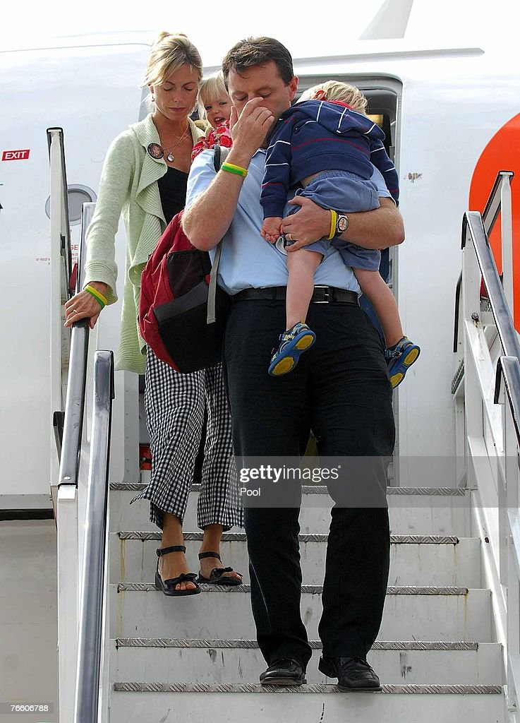McCann Family Return Home : News Photo