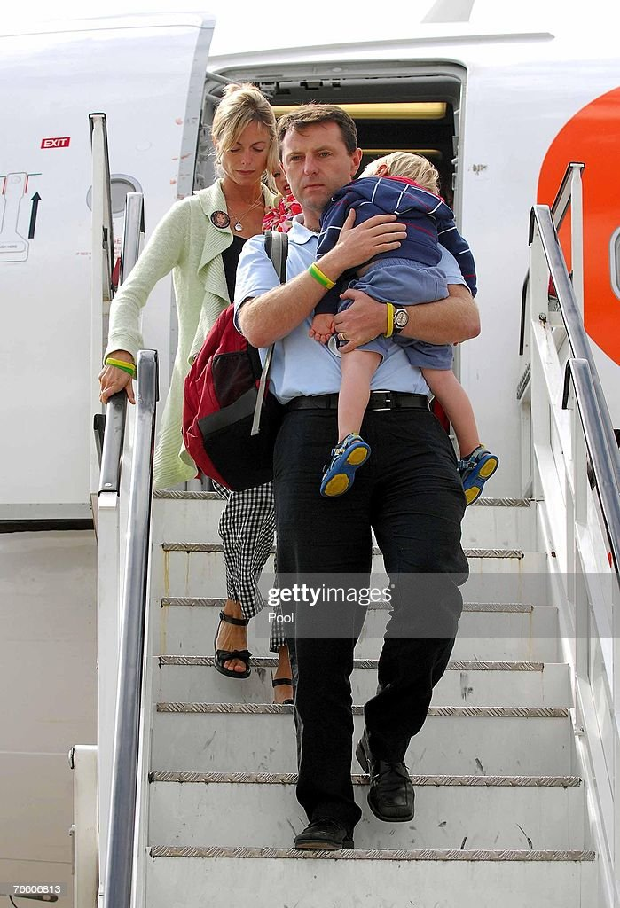 McCann Family Return Home : News Photo