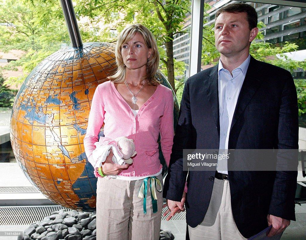 Madeleine McCanns Parents Visit Berlin : News Photo