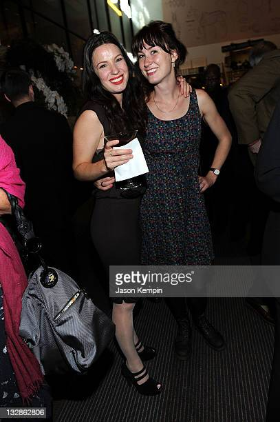 Kate Arrington and Jessica Love attend The 2011 Steinberg Playwright Mimi Awards presented by The Harold and Mimi Steinberg Charitable Trust at...