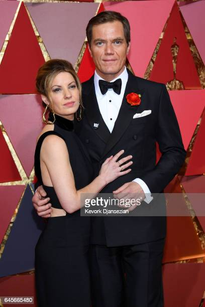 Kate Arrington and Michael Shannon attends the 89th Annual Academy Awards at Hollywood Highland Center on February 26 2017 in Hollywood California