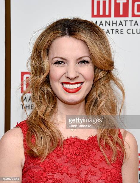 Kate Arrington attends the after party for the opening night of Our Mother's Brief Affair at Copacabana on January 20 2016 in New York City