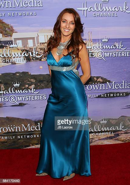 Kate Austin attends the Hallmark Channel and Hallmark Movies and Mysteries Summer 2016 TCA press tour event on July 27 2016 in Beverly Hills...