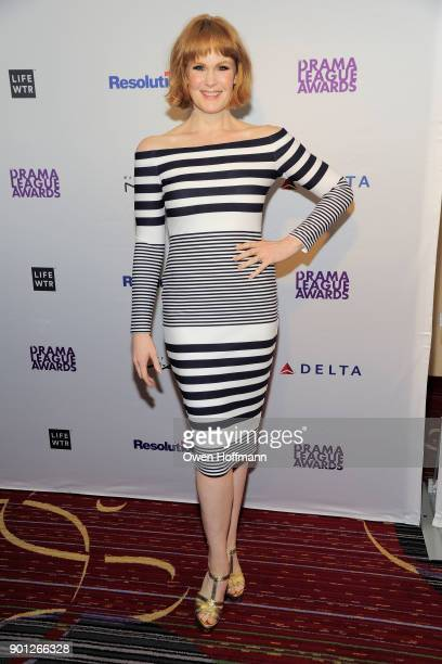 Kate Baldwin attends 83rd Annual Drama League Awards at Marriott Marquis on May 19 2017 in New York City