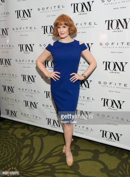 Kate Baldwin attends the 2017 Tony Honors cocktail party at Sofitel Hotel on June 5 2017 in New York City