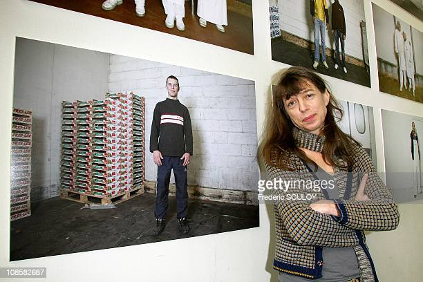 Kate Barry at the Rungis Market in Paris France on June 11 2009