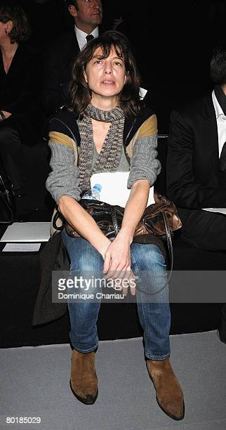 Kate Barry attends the Giambattista Valli Fashion show during Paris Fashion Week Fall/Winter 2008/2009 at espace Eiffel on February 28 2008 in Paris...