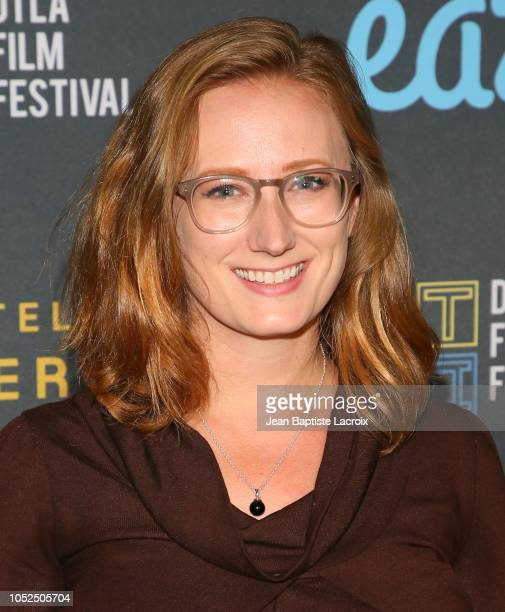 Kate Bass attends the 2018 Downtown Los Angeles Film Festival - 'All Creatures Here Below' 'Original Sin' And Perception' Press line held at Regal LA...