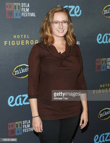 """Kate Bass attends the 2018 Downtown Los Angeles Film Festival - """"All Creatures Here Below"""" """"Original Sin"""" And Perception"""" Press line held at Regal LA..."""