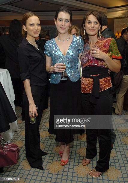Kate Beahan Melanie Lynskey and Diana Glen during Fourth Annual Celebration of New Zealand Filmmaking and Creative Talent Pre Oscar Dinner at The...