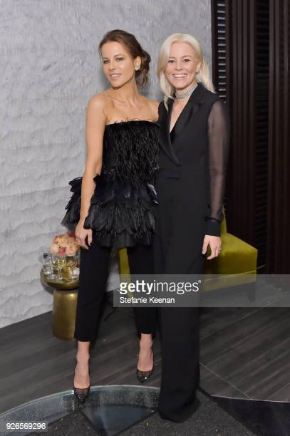 Kate Beckinsale and Elizabeth Banks attends Women In Film PreOscar Cocktail Party presented by Max Mara and Lancome with additional support from...