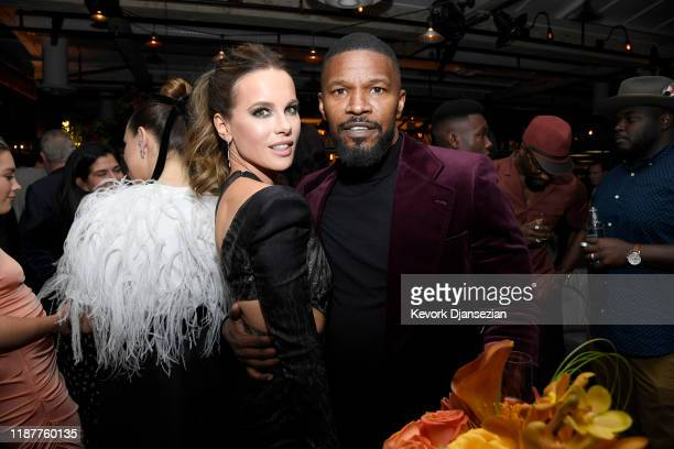 Kate Beckinsale and Jamie Foxx attend the Hollywood Foreign Press Association and The Hollywood Reporter Celebration of the 2020 Golden Globe Awards...