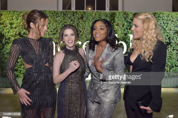 Kate Beckinsale Anna Kendrick Tiffany Haddish and Busy Philipps attend the PORTER Incredible Women Gala 2018 at Ebell of Los Angeles on October 9...