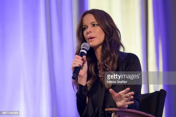 Kate Beckinsale answers audience questions during From Underworld to Wizard World A Conversation with Kate Beckinsale session at Sacramento...