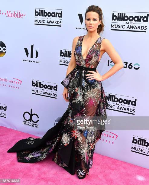 Kate Beckinsale arrives at the 2017 Billboard Music Awards at TMobile Arena on May 21 2017 in Las Vegas Nevada