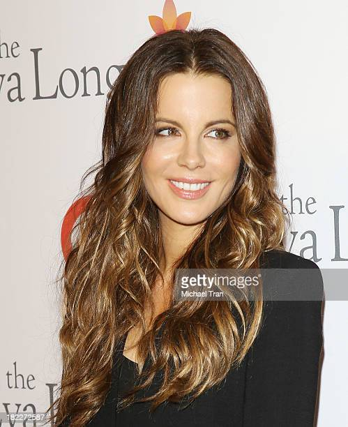Kate Beckinsale arrives at The Eva Longoria Foundation Dinner held at Beso on September 28 2013 in Hollywood California