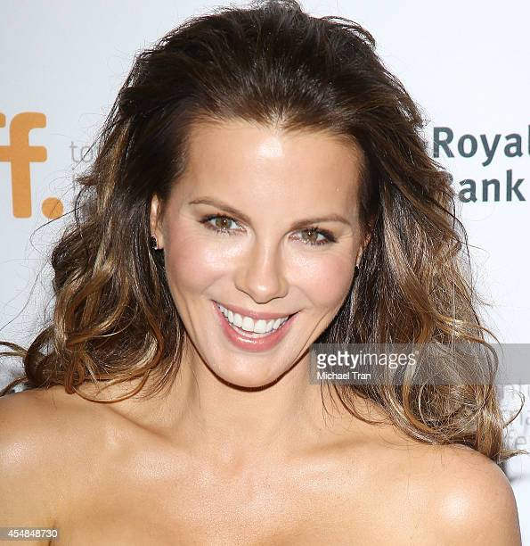 Kate Beckinsale arrives at the premiere of The Face of an Angel held during the 2014 Toronto International Film Festival Day 3 on September 6 2014 in...