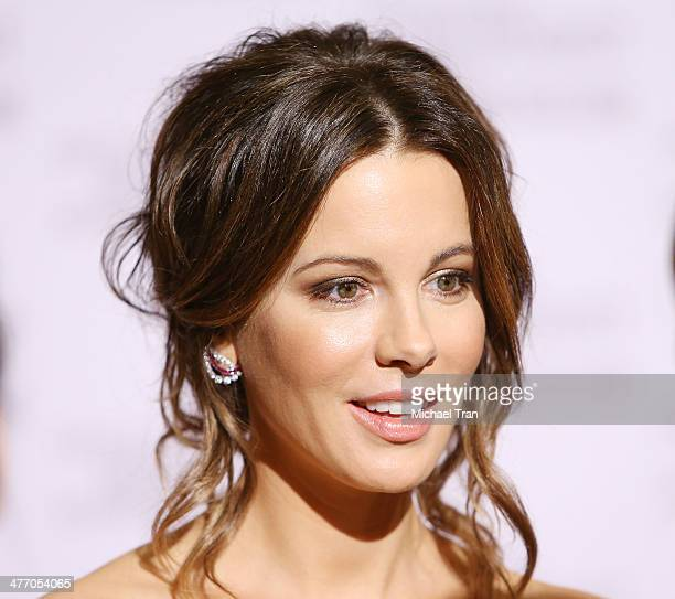 Kate Beckinsale arrives at the United States Holocaust Memorial Museum presents '2014 Los Angeles Dinner What You Do Matters' held at The Beverly...