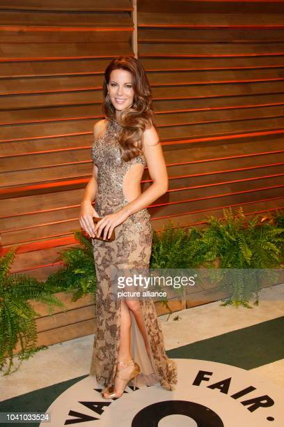 Kate Beckinsale arrives at the Vanity Fair Oscar Party in West Hollywood Los Angeles USA 02 March 2014 Photo Hubert Boesl/dpa...