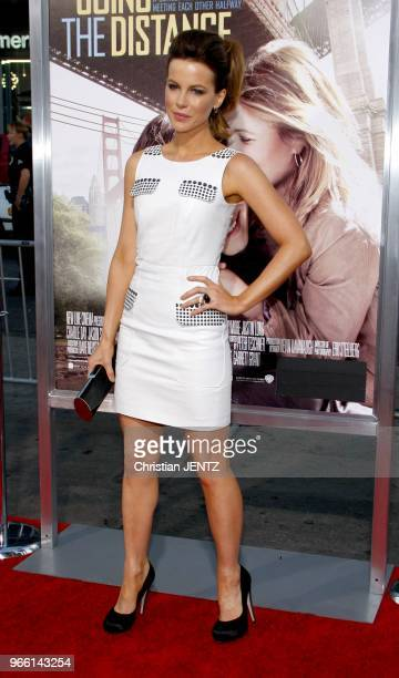 Kate Beckinsale at the Los Angeles Premiere of 'Going The Distance' held at the Grauman's Chinese Theatre in Los Angeles USA on August 23 2010