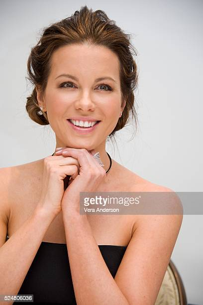 Kate Beckinsale at the 'Love Friendship' Press Conference at the Four Seasons Hotel on April 26 2016 in Beverly Hills California