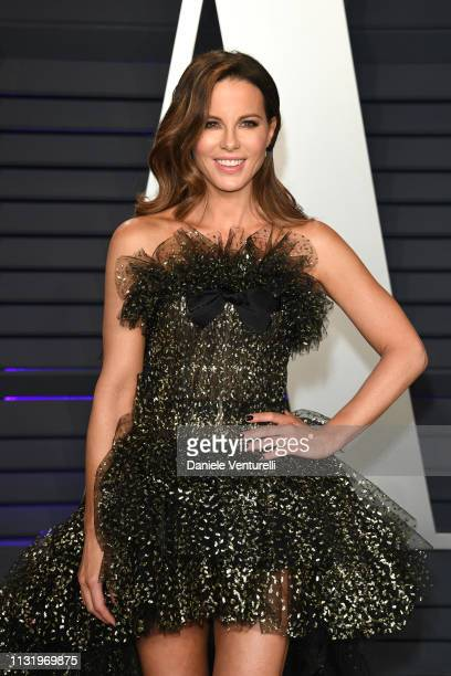 Kate Beckinsale attends 2019 Vanity Fair Oscar Party Hosted By Radhika Jones at Wallis Annenberg Center for the Performing Arts on February 24 2019...