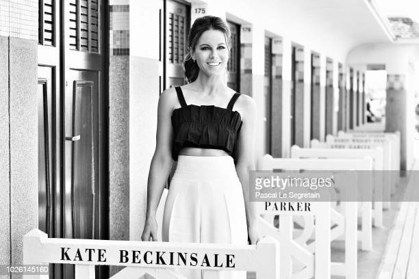 Kate Beckinsale attends a photocall for the 2018 Deauville Talent Award at the 44th Deauville American Film Festival on September 2 2018 in Deauville...