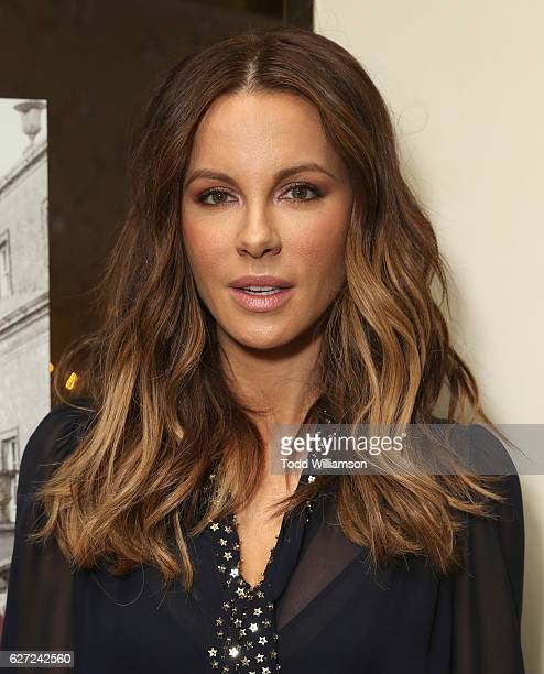 Kate Beckinsale attends a reception to celebrate LOVE FRIENDSHIP at The London West Hollywood on December 2 2016 in West Hollywood California